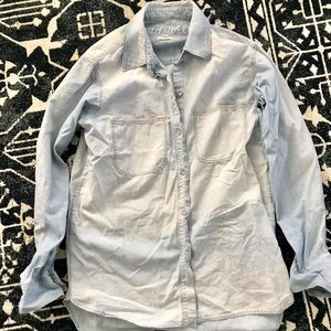 Madewell Chambray Shirt Size Small